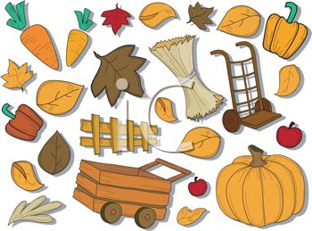 Assorted Thanksgiving Icons