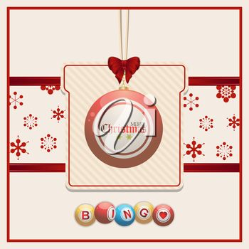 Clipart image of Christmas tree decorations