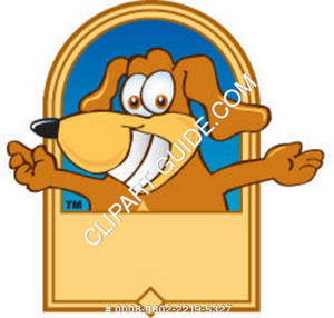 Cartoon Dog Graphic