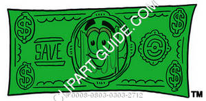 Illustration of Cartoon Beer Mug Character on a Dollar Bill