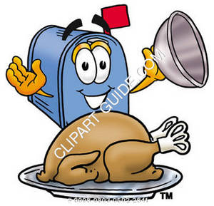 Cartoon Mailbox Thanksgiving 1