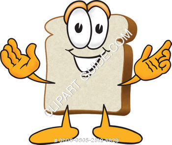 Cartoon Clipart Bread Welcoming