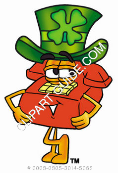 Cartoon Phone St. Patrick's Day