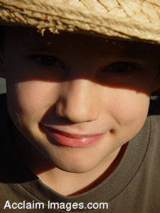 Stock Photography of a Boy in a Hat