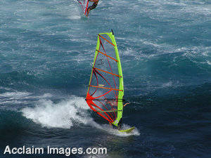 Windsurfing Stock Photography