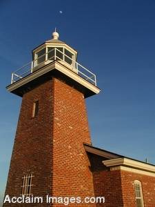 Stock Photography of Lighthouse Point Lighthouse