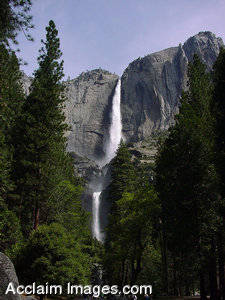 Picture of the great Yosemite Falls