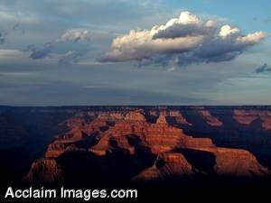 Picture of a Sunset At The Grand Canyon
