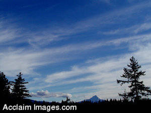 Stock Photo of Southern Oregons Skies