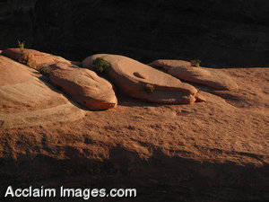 Stock Clipart Photo of Rock Formation at Arches National Park