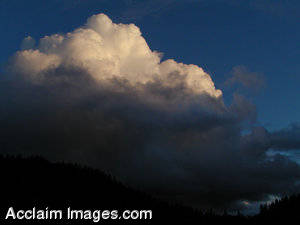 Stock Picture of Thunderclouds