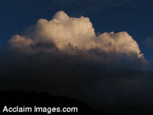 Stock Image of Thunderhead Clouds