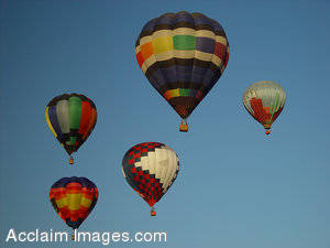 Pictures, Photographs and Photos of Hot Air Balloons