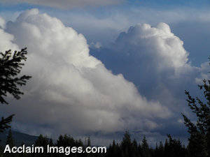 Stock Picture of Clouds