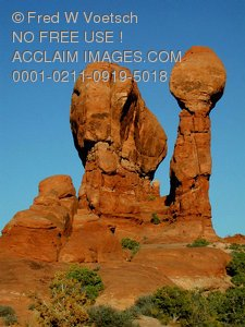 Stock Image of Arches National Park