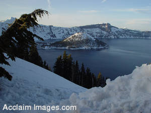 Stock Photo of Crater Lake National Park