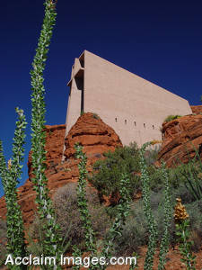 Picture of The Chapel of The Holy Cross Church in Sedona, Arizona