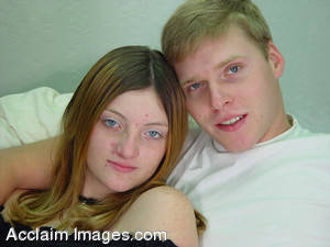 Stock Photo of a Young Couple Together