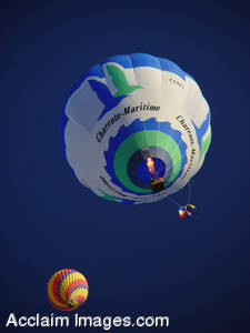 Stock Image of Air Balloons