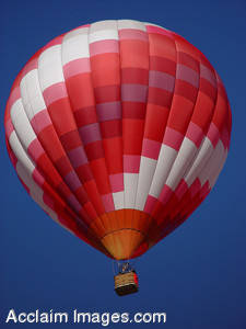 Stock Photo of a Hot Air Balloon