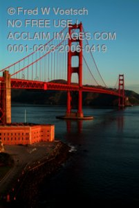 Stock Photo of the Golden Gate Bridge