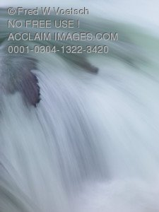Stock Photo of Flowing Water