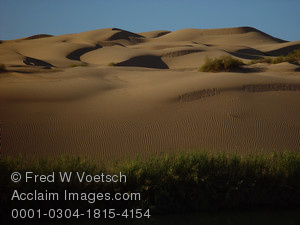 Stock Photo of the Imperial Sand Dunes, Southern California