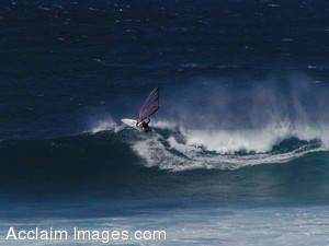 Pictures of Windsurfing in Hawaii