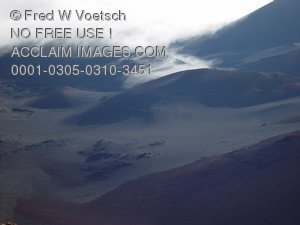 Stock Photo of a View of Haleakala Crater