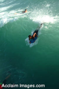 Picture of a Bodyboarder