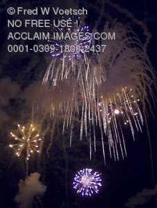Stock Photo of Fireworks