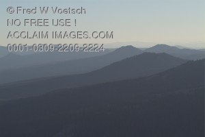 Stock Photo of Hills and Mountains