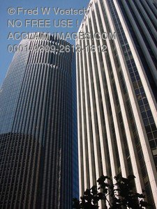 Stock Photo of High-Rise Buildings in San Francisco, California