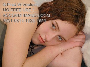 Stock Photo of a Young Girl