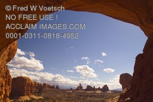 Stock Photo of Arches National Park