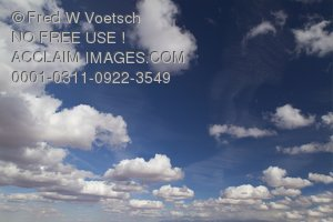 Stock Photos of Puffy White Clouds