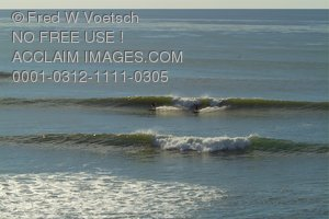 Stock Photo of Ocean Waves