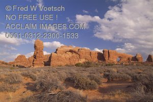 Stock Photo of Arches National Park, Utah