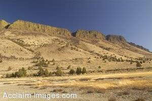 Stock Photography of the Albert Rim in Southern Oregon