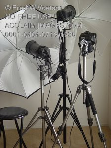 Stock Photo of Photography Equipment