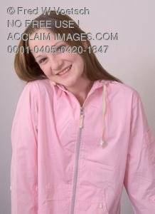 Stock Photo of a Smiling Girl