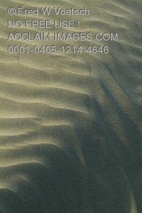 Clip Art Stock Photo of a Pattern In The Sand