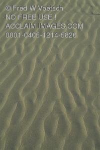 Clip Art Stock Photo of Ripples In The Sand