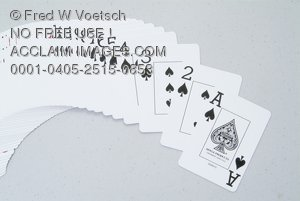 Stock Photo of Playing Cards