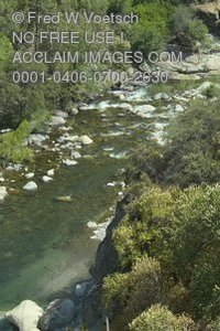 Stock Photo of Kaweah River, Sequoia National Park