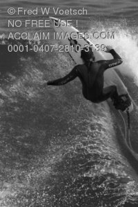Stock Photo of a Surfer