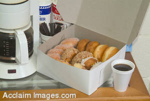 Picture of Donuts and Coffee