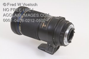Stock Photo of a Camera Lens