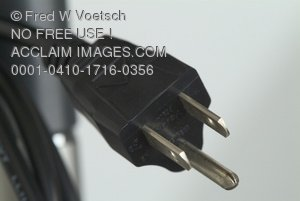 STock Photo of an Electrical Plug