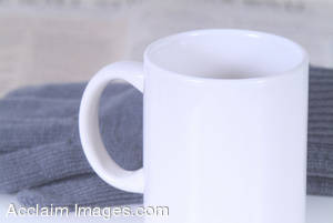 Stock Photo of a Coffee Cup